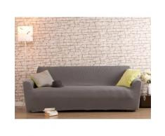 Housse de canapé 3 places bi-extensible LISA Gris