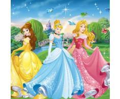 Poster intissé à poser XXL 2.54x2.76m PRINCESSES DISNEY