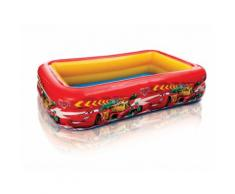Piscine gonflable rectangulaire 262x175x56cm CARS FLASH MC QUEEN