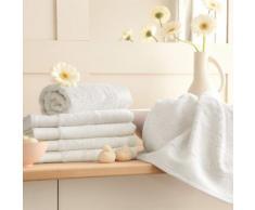 Serviette de toilette coton/bambou 650gr/m2 50x100cm BAMBOO Ecru