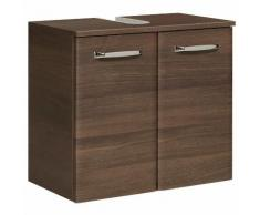 Meuble sous-lavabo 2 portes Longueur 60 cm WILLIAMS Moka Seul