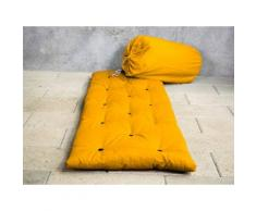 Matelas futon d'appoint 1 personne 70x190 BED IN BAG Ocre