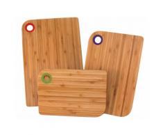 Planche à découper en bambou - Lot de 3 pièces SETS