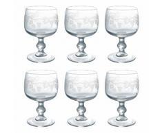 Verre à vin Serment - Lot de 6 pièces DOMAINE 28cl