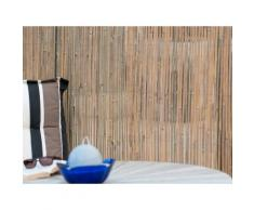 Canisse en bambou fendu naturel 200cm 200cm