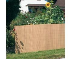 Canisse PVC - aspect naturel 0,9x3m