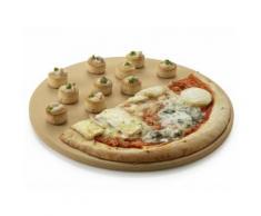 Plaque à pizza pour barbecue à gaz - Diamètre 36 cm