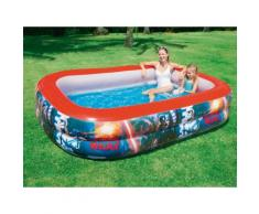 Piscine gonflable rectangulaire 262x175x51cm STAR WARS