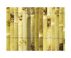Canisse de bambou fendu et vernis deco occultant 85% YANGTSE 1m 1m