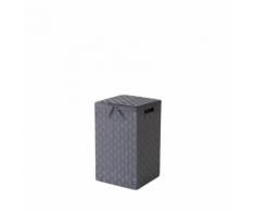 Compactor Panier à linge carré STAN Gris