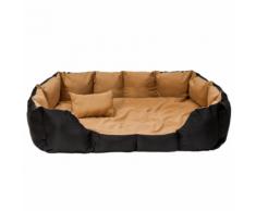 Coussin lit panier matelas pour chien + matelas + coussin XXL 110 x 90 x 27 cm
