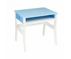 Atmosphera for Kids-Bureau bleu pour enfant en bois