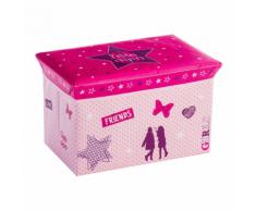 Atmosphera for Kids-Coffre de rangement pliable Girls