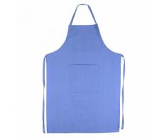 Linnea Tablier de cuisine 60x90 cm toile 100% coton PURE KITCHEN APRON - Bleu