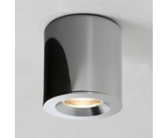 Astro Lighting - Plafonnier Kos rond LED IP65 salle de bains - Chrome