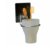 Compactor Porte-brosses à dents auto-adhésif Bestlock Magic