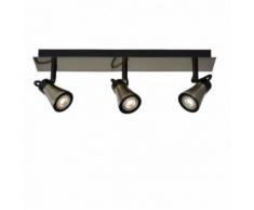 Lucide - Spot Bolo LED triple linéaire bronze