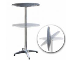 Table bistrot rabattable hauteur réglable