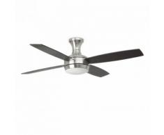 Ventilateur de plafond moderne Ufo-4 D132 cm - Noir