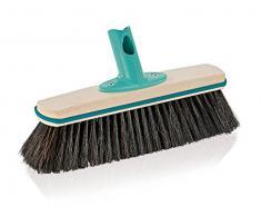 Leifheit 45002 Xtra Clean Eco Plus Balai pour Parquet Plastique Beige 32 x 9,5 x 15,5 cm