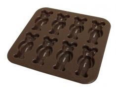 Yoko Design 1196 Moule Oursons Silicone/Platine Chocolat 14,7 x 14,4 x 1,8 cm