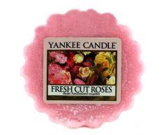 Yankee Candle 1038344E Diffuseur de bougie parfumée senteur Roses fraichement coupées