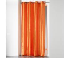 Douceur dIntérieur Rideau à œillets Polyester Brique 140 x 240 cm