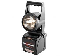 ANSMANN Projecteur de travail Powerlight 5.1 5W / Projecteur portable à LED robuste pour éclairage de secours en cas de panne de courant ou pour éclairage de chantier / Boîtier résistant aux chocs et aux projections deau (IP65)