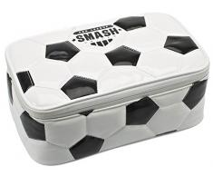 Smash Sac Repas Isotherme – Motif Ballon de Football – Noir et Blanc