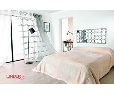 Linder 5032/10/841 Jeté de Canapé Imitation Fourrure Acrylique/Polyester Beige 150 x 200 cm