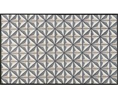 Wash+Dry Kubus Tapis, Surface en Polyamide, Beige, 80 x 150 cm