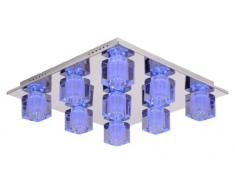 Lucide 32150/29/11 Killy LED Plafonnier 58 /58 / 15,5 cm G9 / 28 W