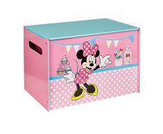 Minnie Mouse 865887 Coffre de rangement Bois Rose 39,5 x 60 x 39,5 cm