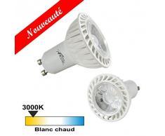 Arcotec 274431 Ampoule spot LED COB GU10 5 W 340 lumens Blanc Chaud