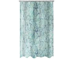 Spirella 10.18495 Textil-Duschvorhang Marble Grey, 180X200 cm Rideau de Douche, Polyester, Gris, 180 x 200 cm