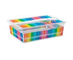 Kis 8416000 2063 01 C Box Style Colours Arty Boîte de Rangement Plastique Multicolore 27 L
