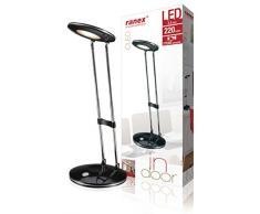 Ranex 1001121 Lampe de Bureau LED 1306 Noir