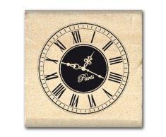 Florilèges Design FA211103 Tampon Scrapbooking Petite Horloge, Beige