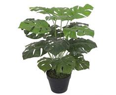 Leaf Design UK Plante Artificielle Monstera 60 cm