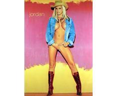 1art1 Jordan Poster - Cowgirl - Pin Up (91 x 61 cm)