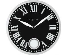 NeXtime 8161 Romana Horloge Plastic Noir