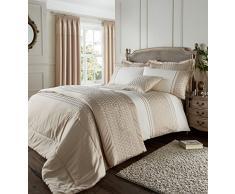 Catherine Lansfield Lille Parure de lit simple–Doré, doré, King