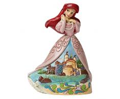 Disney Traditionsitions Figurine Ariel en Robe avec son château