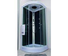 Aqua Plus SACHCABARMGR Armonie Cabine de douche Hydro 1/4 C 90 Gris
