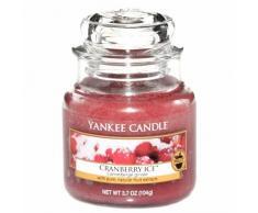 YANKEE CANDLE Bougie Petite Jarre, «Canneberge givrée»