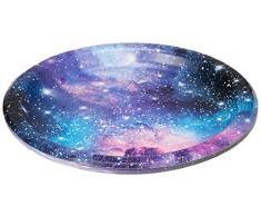 Creative Converting 336039 Galaxy Assiette en papier Multicolore