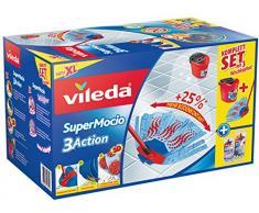 Vileda Super mocio 3x Action Boîte Balai serpillère