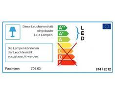 Paulmann 70463 WallCeiling Lukida IP44 LED 9W 600mm chrome/blanc 230V, Alu,/acrylique