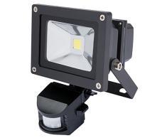 Draper Expert 51347 10 W COB LED Spot mural avec détecteur de infrarouge passive