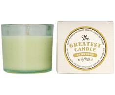 The Greatest Candle in the World TG075FM Lait de Figue Bougie dans Verre Recyclé Cire Végétale Lot de 2